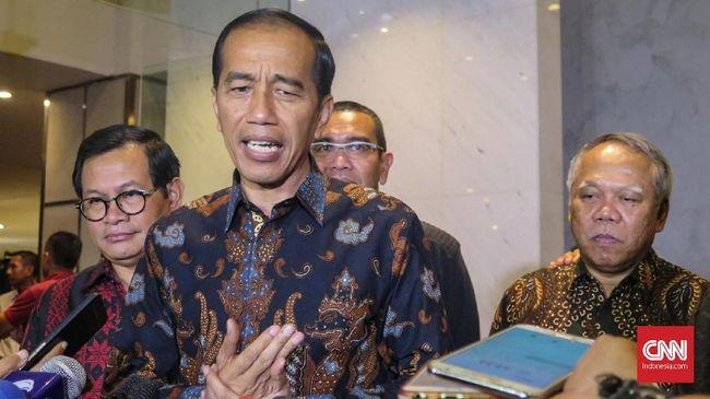 Jokowi Minta Pengusaha Manfaatkan Perang Dagang AS-China