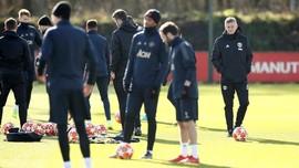 FOTO: Jelang Duel Manchester United vs PSG di Liga Champions