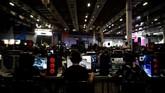 Campus Party merupakan festival teknologi tahunan yang digelar selama 24 jam selama sepekan. (REUTERS/Nacho Doce)