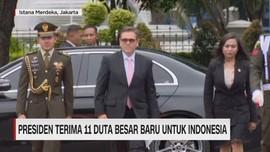Presiden Terima 11 Duta Besar Baru untuk Indonesia