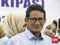 Sandiaga Uno Pilih 'Nobar' Debat Capres Kedua di Cibinong