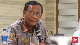 Mahfud MD Sebut Penundaan Pengumuman Calon Hakim MK Politis