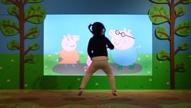 FOTO: 'Peppa Pig' Idola Asal Inggris yang Populer di China