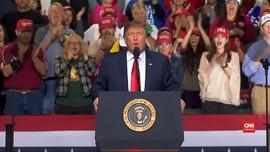 Trump Umumkan Darurat Nasional Demi Amankan Tembok Meksiko