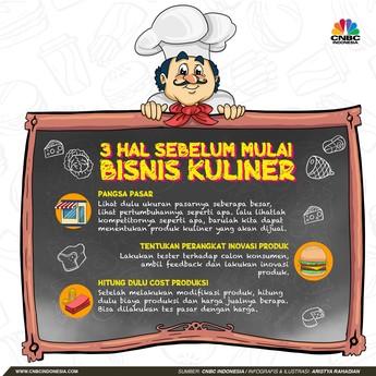 Mau Bisnis Kuliner? Simak 3 Tips Jitu Ini