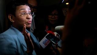 Dituduh Memfitnah, Aparat Filipina Tangkap Bos Rappler