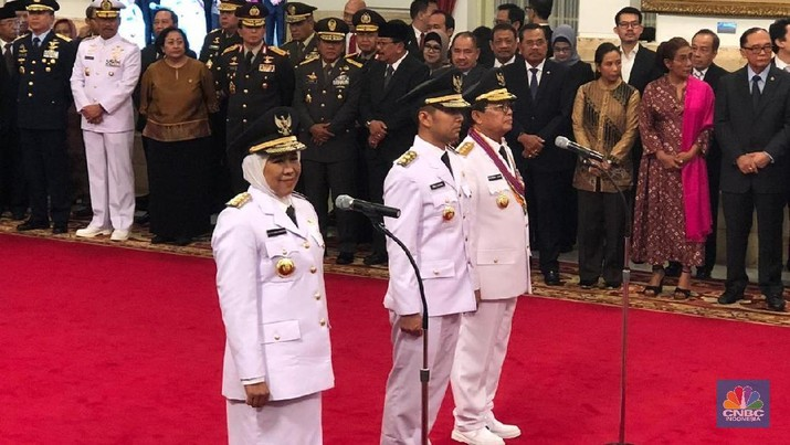 Usai pelantikan, Jokowi langsung meminta seluruh pemimpin daerah tancap gas.