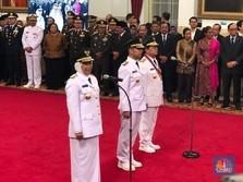 Lantik Khofifah Jadi Gubernur, Jokowi: Langsung Tancap Gas!
