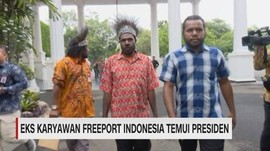 Eks Karyawan Freeport Indonesia Temui Presiden