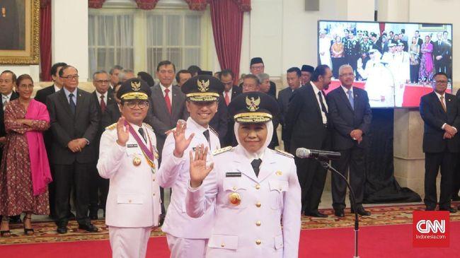 Jokowi Minta Khofifah-Emil Tancap Gas Bekerja di Jatim