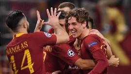 AS Roma Menang Tipis 2-1 atas FC Porto di Liga Champions