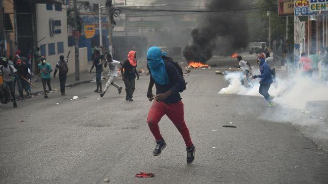 Rakyat Haiti Demo Besar Tuntut Presiden Mundur