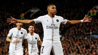 Kylian Mbappe Samai Rekor Gol Ronaldo di Liga Champions