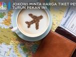 Jokowi Minta Harga Tiket Pesawat Turun Pekan Ini