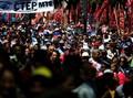 Ribuan Warga Argentina Demo Desak Deklarasi Darurat Pangan