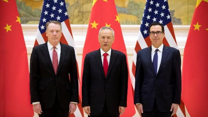 Bahas Damai Dagang, AS-China Bersua Lagi Malam Ini