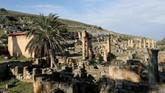 Kesepakatan tersebut terkait rencana untuk mendirikan 'mega port' atau pelabuhan raksasa yang bisa menjadi destinasi wisata dan mengundang para turis. (REUTERS/Esam Omran Al-Fetori)