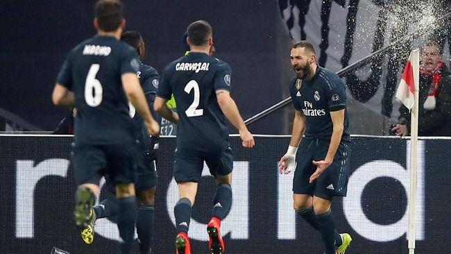 Berkat VAR Madrid Menang 2-1 atas Ajax di Liga Champions