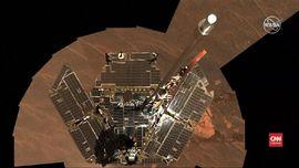 VIDEO: Rover Ekspedisi NASA di Mars Berhenti Beroperasi