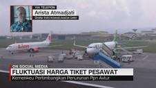Fluktuasi Harga Tiket Pesawat