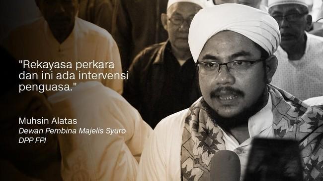 Dewan Pembina Majelis Syuro Dewan Pimpinan Pusat Front Pembela Islam (DPP FPI)MuhsinAlatas