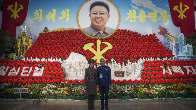 Semangat Persatuan di Pameran Bunga Korea Utara