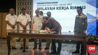 Kontrak Blok Rimau Diperpanjang sampai 2023
