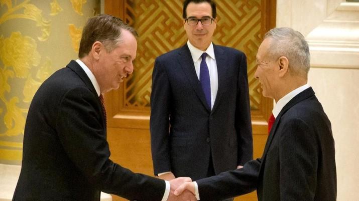 Pembicaraan dagang tingkat wakil menteri yang hanya dihadiri oleh pejabat seperti wakil perdagangan kedua negara.