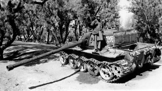 Penyerbuan Uni Soviet ke Afghanistan pada 27 Desember 1979 dianggap menjadi kuburan para 'kamerad' menghadapi militan. (Photo by AFP)