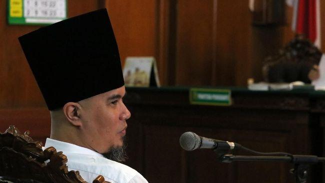 Ahmad Dhani Klarifikasi Soal Penahanan, PT DKI Enggan Jawab