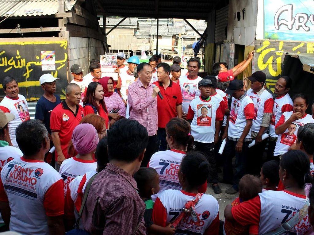 Kunjungan ini dilakukan Sony Kusumo untuk menjaring aspirasi warga di daerah pemilihannya. Foto: dok. PDIP