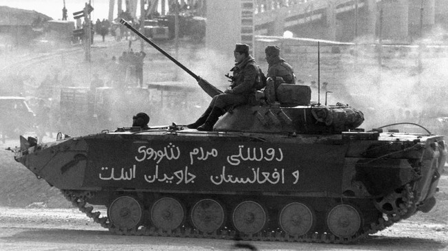 Perang di Afghanistan merenggut nyawa 15 ribu pasukan Uni Soviet, serta 1,5 juta warga sipil dan gerilyawan. (REUTERS)