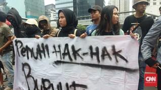 Rekan Diciduk Usai Demo Istana, Pegawai Papua Geruduk Polda