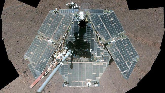 Menerka Nasib Bangkai Robot Opportunity di Mars