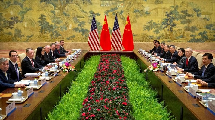 Trump Sebut Diskusi Dagang AS-China Produktif