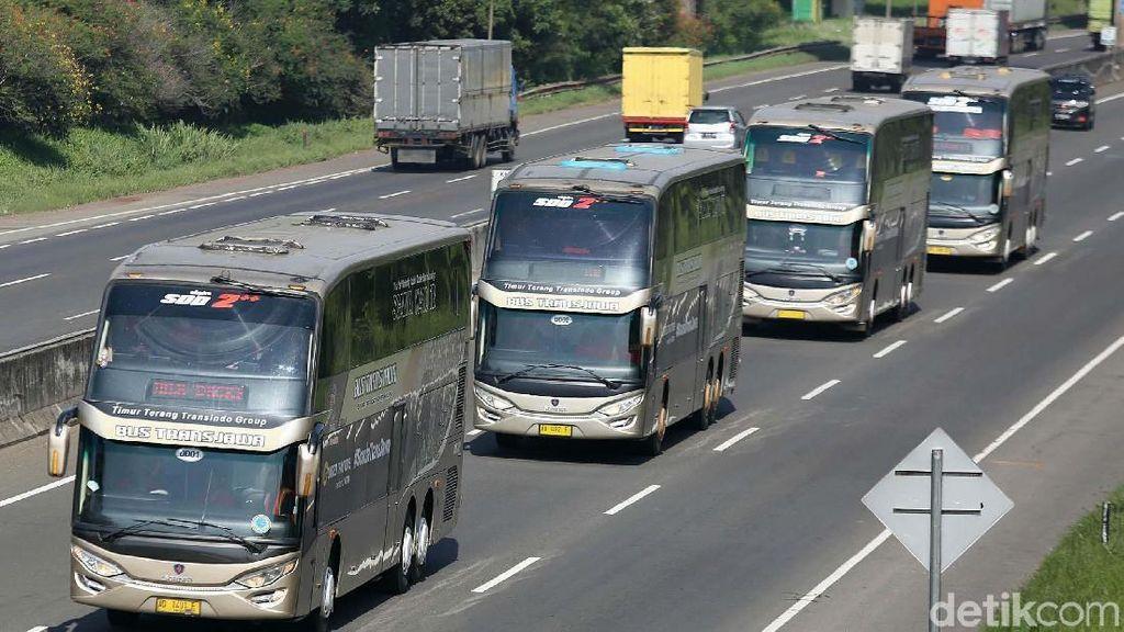 Sensasi Naik Bus Tingkat Pulang Pergi Jakarta-Semarang