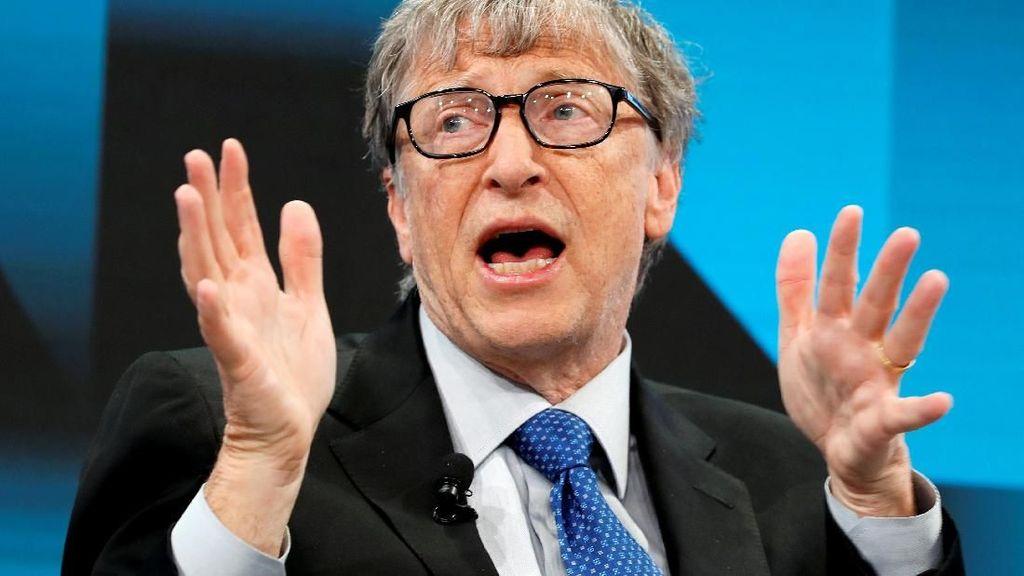 Bill Gates Tergusur dari Posisi Dua Orang Terkaya Dunia