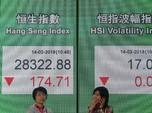 Bursa Hong Kong Bertahan di Zona Hijau Saat Jeda