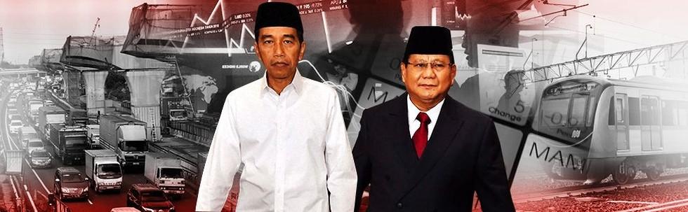 Duel Ekonomi Jokowi Vs Prabowo