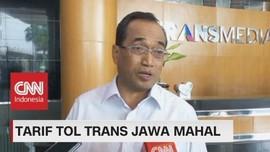 Tarif Tol Trans Jawa Mahal, Menhub: Karena Dikelola Swasta