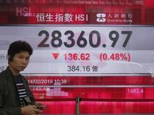 Harga Minyak Jatuh, Bikin Bursa Hong Kong Terkoreksi 0,51%