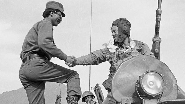 Pada 15 Februari, Afghanistan akan mengenang berakhirnya penyerbuan Uni Soviet ke negara mereka pada 1989. (REUTERS/Richard Ellis)