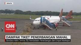 Ratusan Penerbangan Batal, Bandara Halim Was-Was Merugi