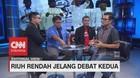 Riuh Rendah Jelang Debat Kedua di Mata Jurnalis (3/3)