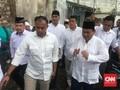 Pekik 'Prabowo Presiden' Terdengar di Masjid Kauman Semarang