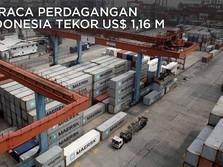 Duh, Neraca Perdagangan Indonesia Tekor US$ 1,16 M