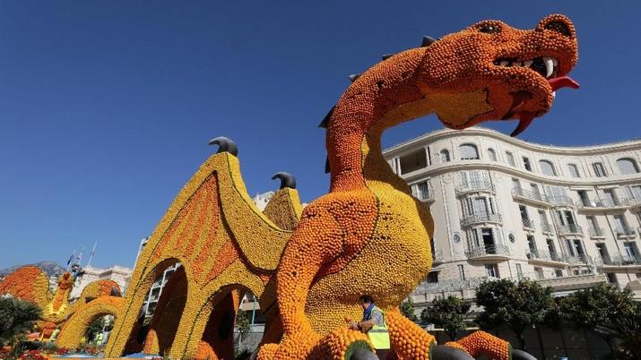 Acara Festival Lemon ke-86 tahun akan di mulai besok (16/2/19), di Menton, Perancis.