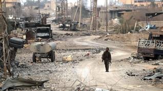 PBB Ungkap 84 Orang Meninggal Saat 'Lari' dari Islamic States