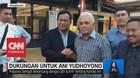Jenguk Ani Yudhoyono, Prabowo Disambut Hatta Rajasa