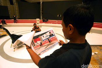 Melihat Sibuknya Persiapan Debat Kedua di Hotel Sultan